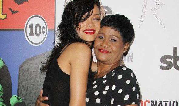 Rihanna celebrates her mum as she turns 30