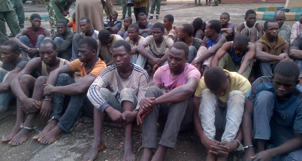 Hundreds of Boko Haram suspects docked in Kainji