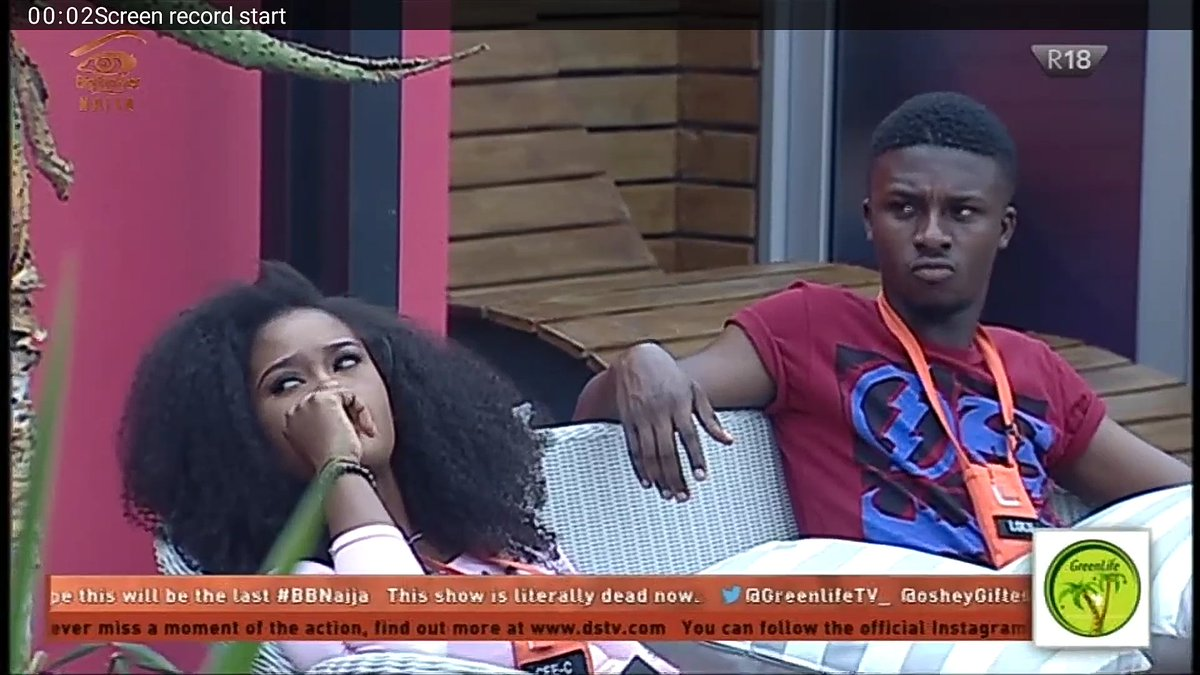 #BBnaija – Housemate Lolu breaks the internet as he finally melts Cee-C's heart