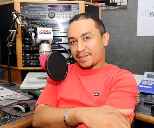 Daddy Freeze releases official logo for his online Church