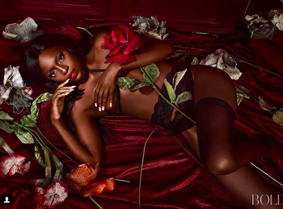 Beverly Osu shows off her killer figure in braless new photos
