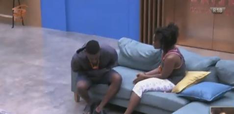 #BBNaija Cee C weeps as Tobi finally walks away despite her apology