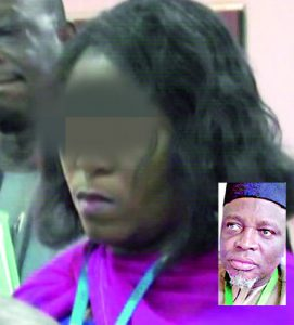 Photos – Missing N36m: Sen. Sani storms JAMB Hdqtrs with snake charmers