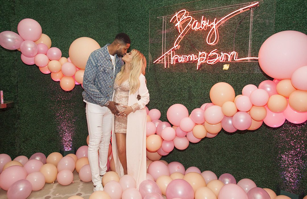 Khloe Kardashian shares more photos from her baby shower