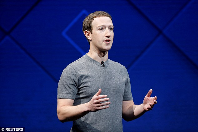 Mark Zuckerberg loses $5billion after Facebook shares plummet