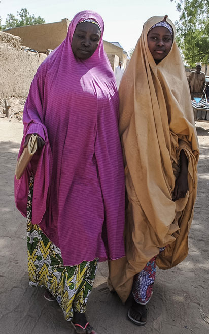Photos: Some of the released Dapchi school girls