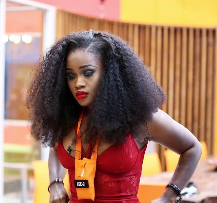 #BBNaija I can't see without my lashes -Cee C cries out
