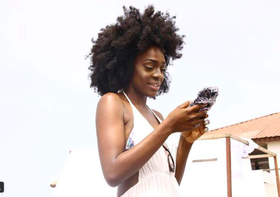 Braless Beverly Osu serves major hair goals in new photo