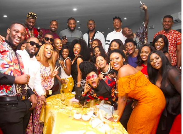 Waje, Denrele Edun, Beverly Osu others turn up for Yemi Alade's birthday bash