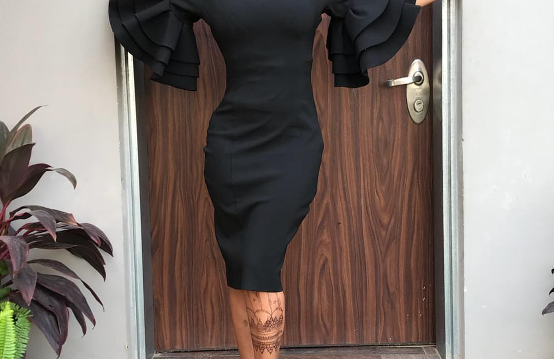 See how Tonto Dikeh stepped out for Women's Day
