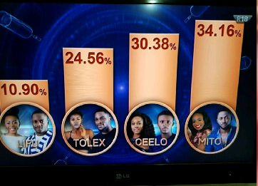 #BBNaija See how Nigerians voted for the housemates