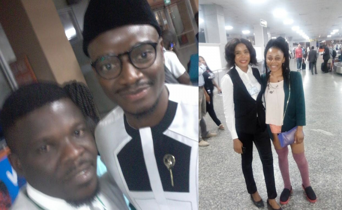 #BBNaija Leo and Ifu arrive Nigeria ,reveals why they were evicted