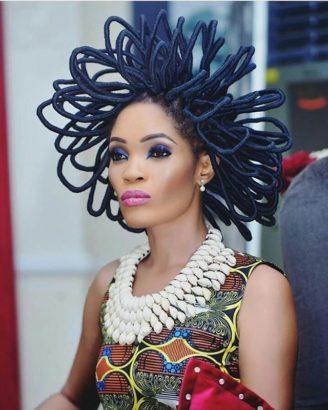 Just my hair costs N40m – Model Chika Lann