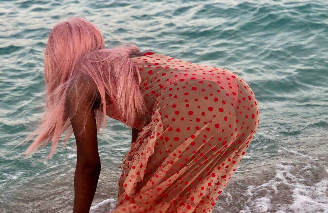 Sophia Momodu flaunts bum in thong bikini