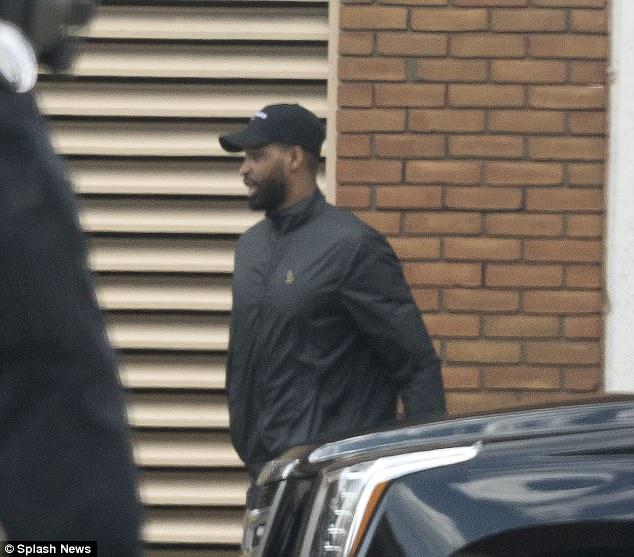 Tristan Thompson leaves hospital 12 hours after Khloe Kardashian gave birth
