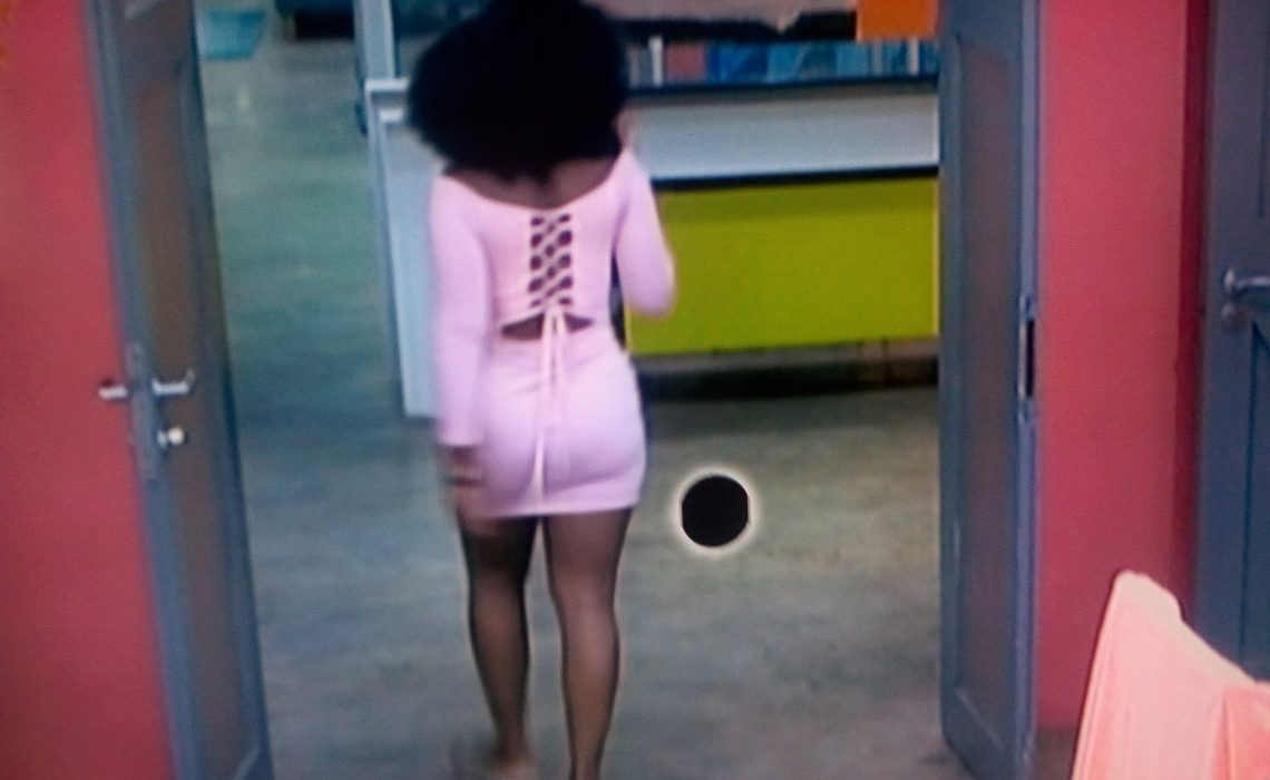 #BBNaija See the dress Cee-C wore which has jaws-dropping