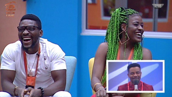 #BBNaija The internet claims Tobi and Alex had s*x last night