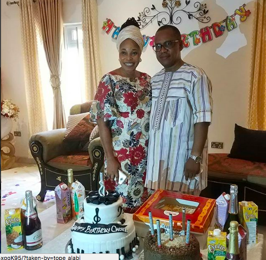 Gospel singer Tope Alabi celebrates her husband as he turns a year older