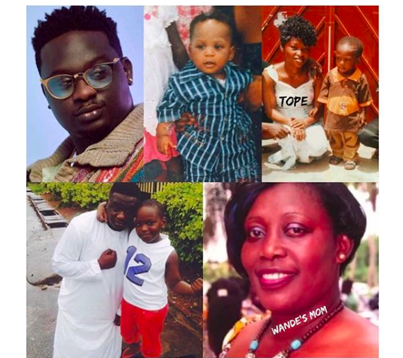 Wande Coal's babymama calls him out, says he kidnapped their son