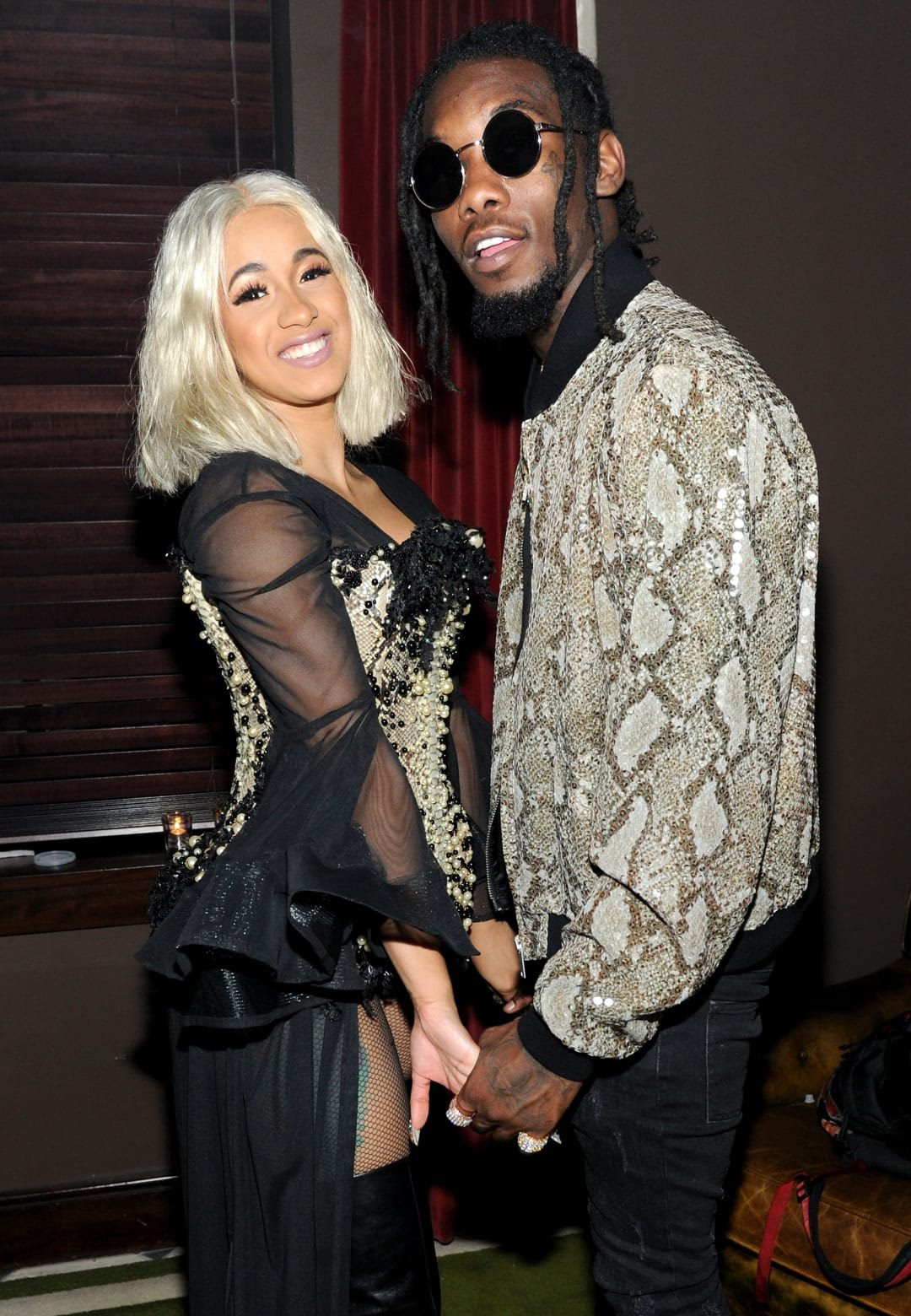 Is Cardi B S Offset Name Tattoo Real The Ink Is A Giant: Cardi B And Offset Settle On Baby Name : Miss Petite