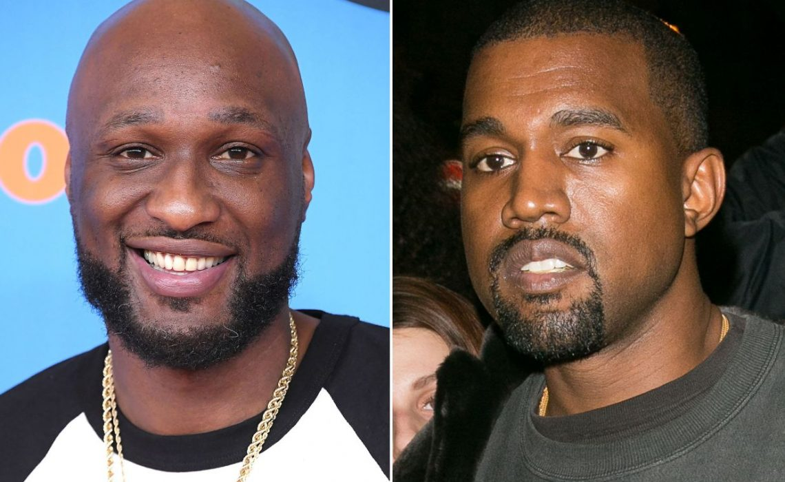 Lamar Odom responds to Kanye West's tweet about him