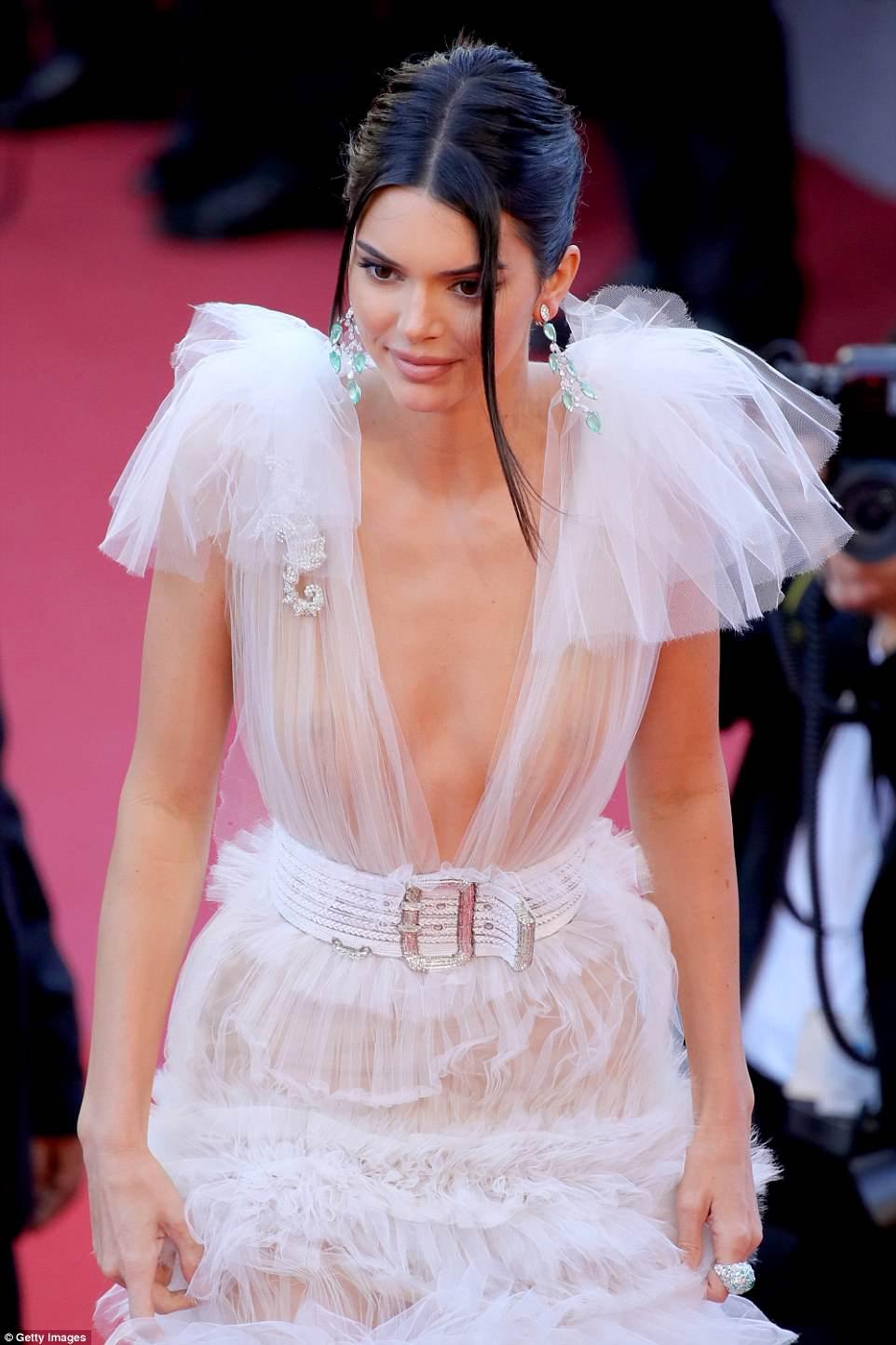 Kendall Jenner Fashion Month Sheer Dress