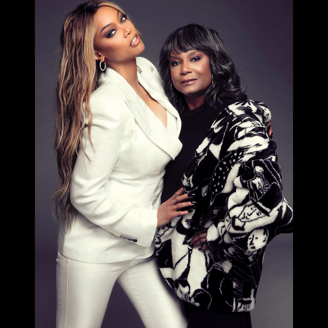 Tyra Banks And Her Mom Recreate Famous Mother-Daughter