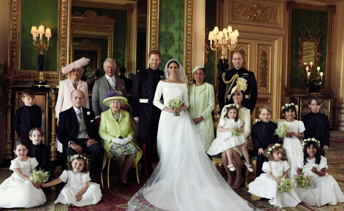 Prince Harry and Meghan Markle release official royal wedding photos