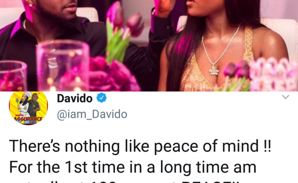 Davido reveals how he feels after buying Chioma a Porsche