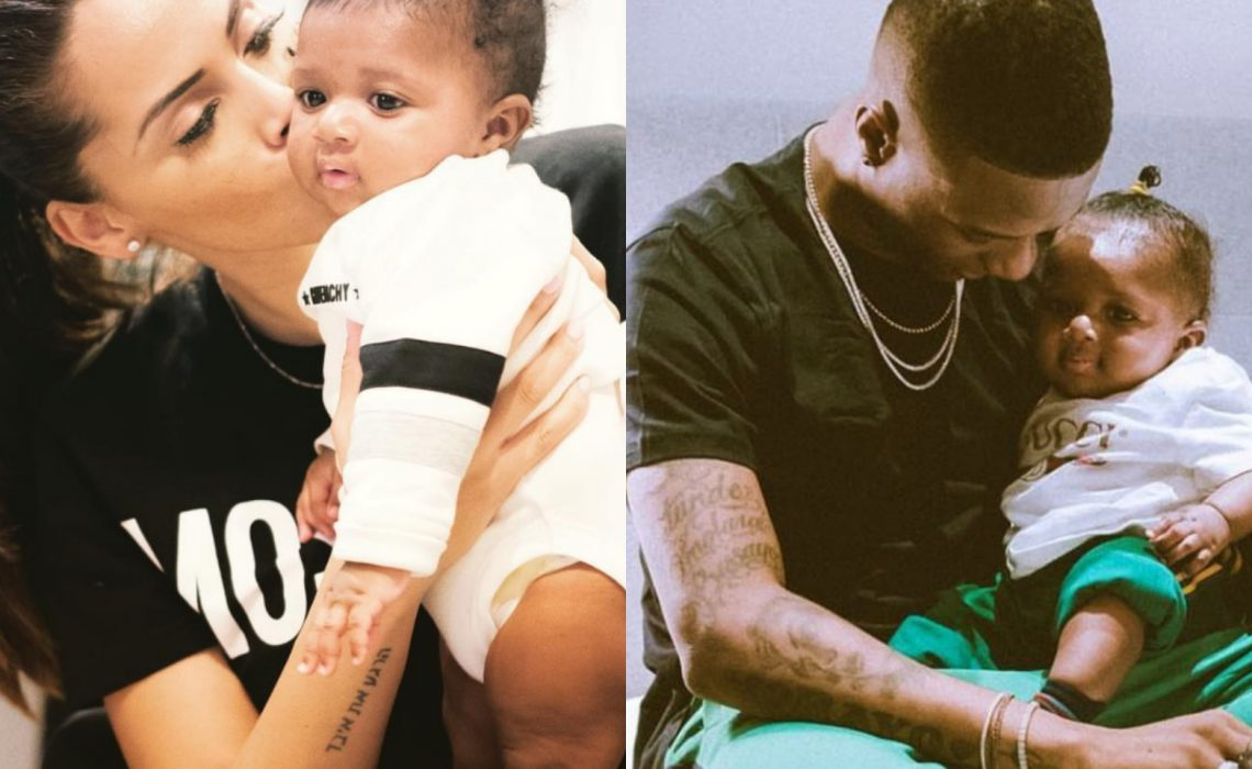 Wizkid's 2nd babymama,Jada Pollack praises him amidst 'deadbeat allegations'