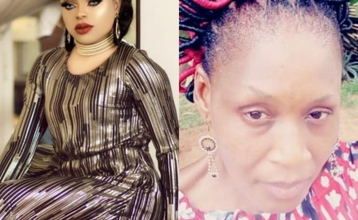 Bobrisky's message to Kemi Olunloyo over Linda Ikeji