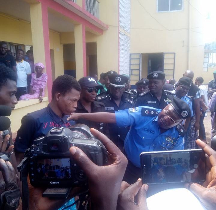 Police Parades Dreaded Aiye Cultist 'Spartacus' In Ogun State