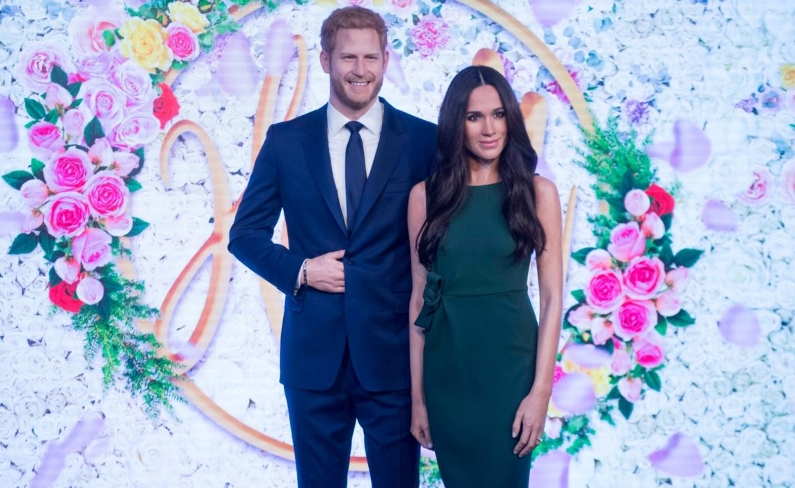 Meghan Markle and Prince Harry wax figures unveiled at Madame Tussauds
