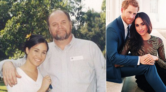 Meghan Markle pleads with dad to walk her down the aisle