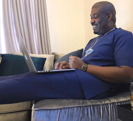 Did Donjazzy just reveal he's getting married soon?