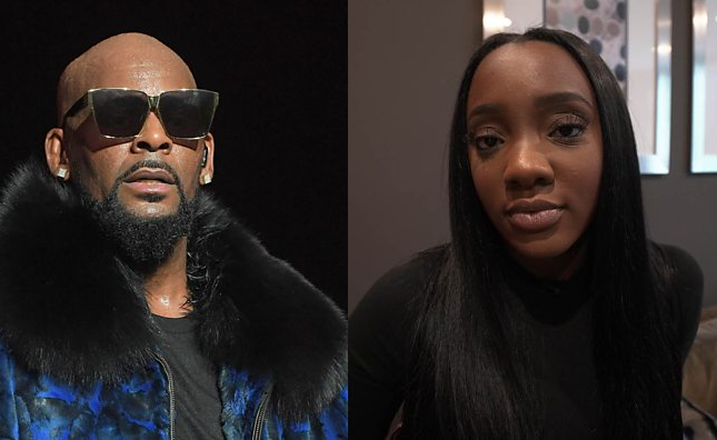 Lady who claims R Kelly deliberately infected her with an STD speaks