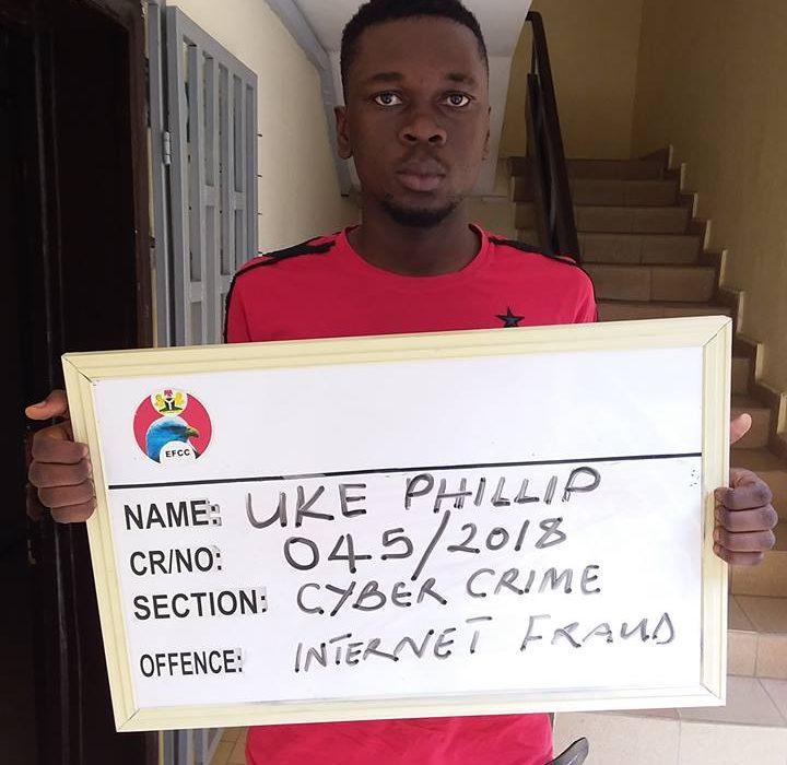 Yahoo boy jailed over N150k fraud