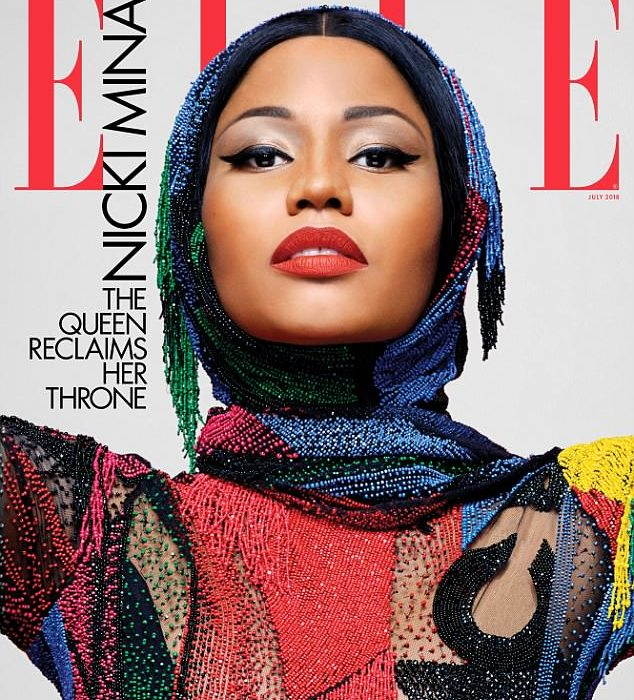 Nicki Minaj talks being single for the first time in 15-years as she covers the latest issue of Elle Magazine