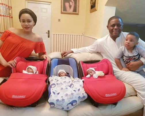 FFK shares an adorable photo of his family