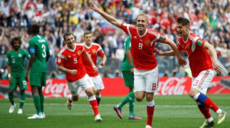 World Cup: Russia Beats Saudi Arabia 5-0 In World Cup Opening Game