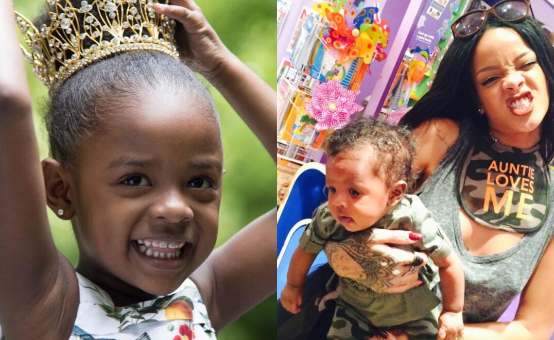 Rihanna celebrates her niece Majesty's 4th birthday