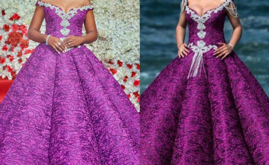 Omoni Oboli and Nina go head -to-head in princess ball gown