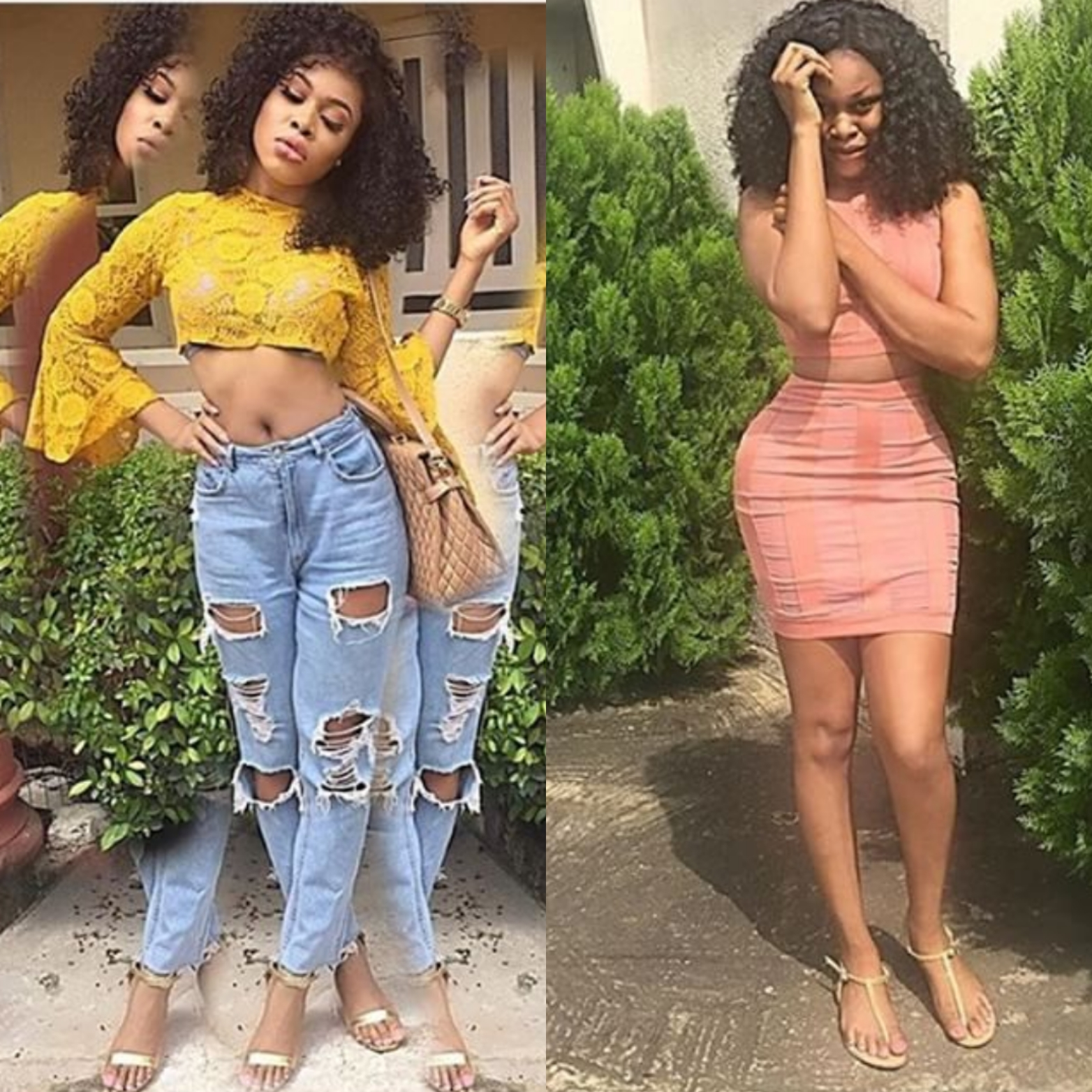 Fans call out ex-BBNaija housemate over miracleous big hips