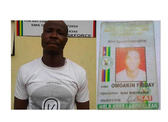 Togolese man arrested for impersonation in Lagos
