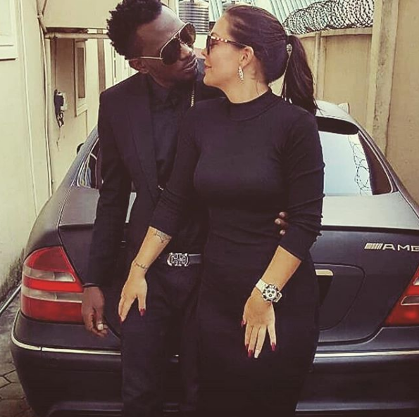 May D's Swedish fiancee defends him against babymama
