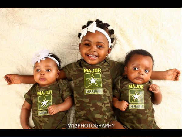 Akpororo shares super cute photo of all his kids