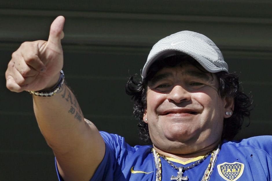 FIFA condemns Maradona over 'robbery' comments