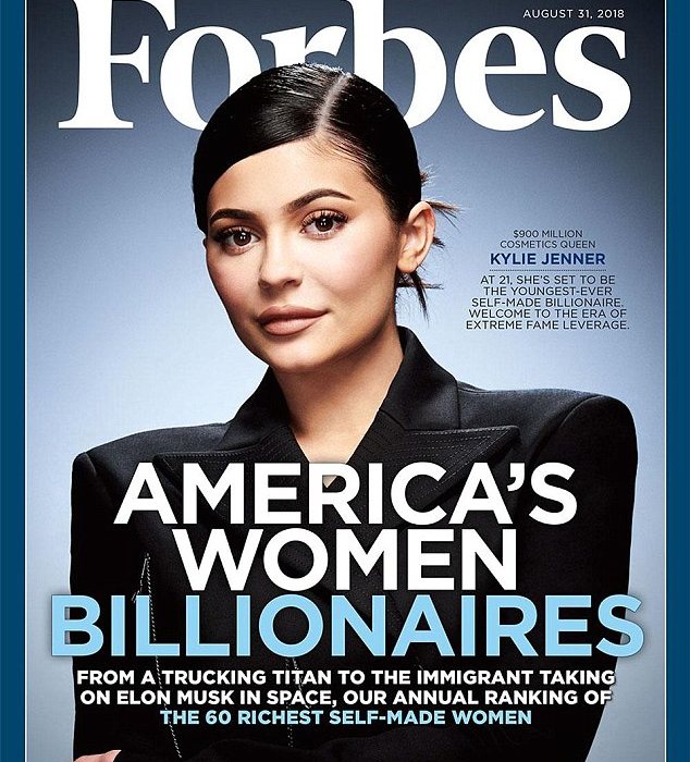 Forbes faces backlash for calling Kylie Jenner a 'self-made' billionaire