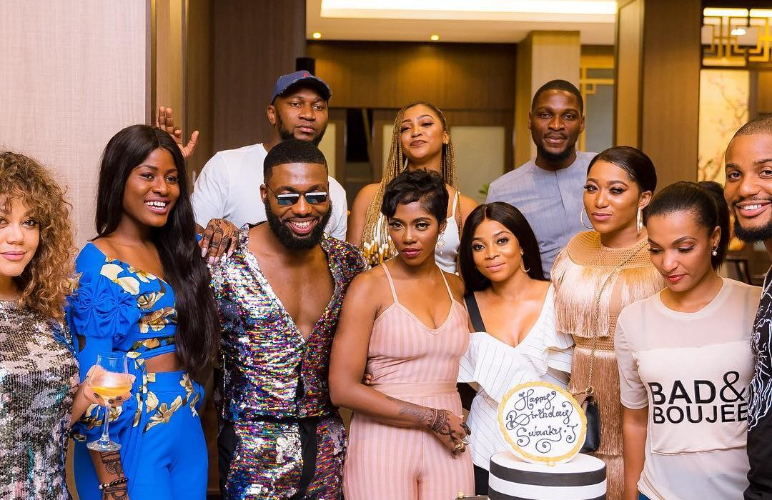 Tiwa,Toke and more stars attend Swanky Jerry's birthday