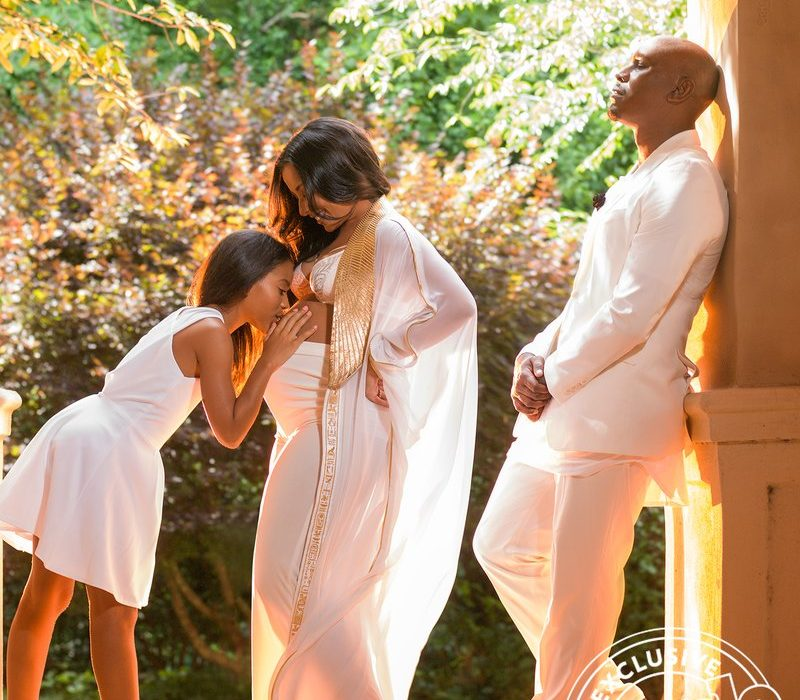 More photos from Samantha Lee's maternity shoot